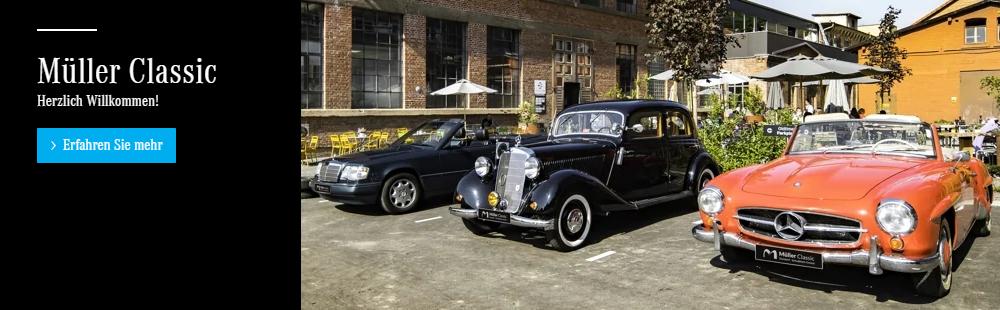 Mercedes-Benz Schlat ツ Autohaus Wilhelm Müller » MB Classic Oldtimer Restauration & KFZ Werkstatt