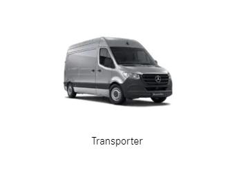 Mercedes-Transporter aus  Salach