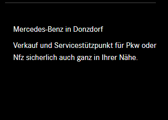 Mercedes Verkaüfer aus  Geislingen (Steige)